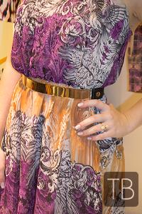 Vestido Mullet + Cinto dourado TB store