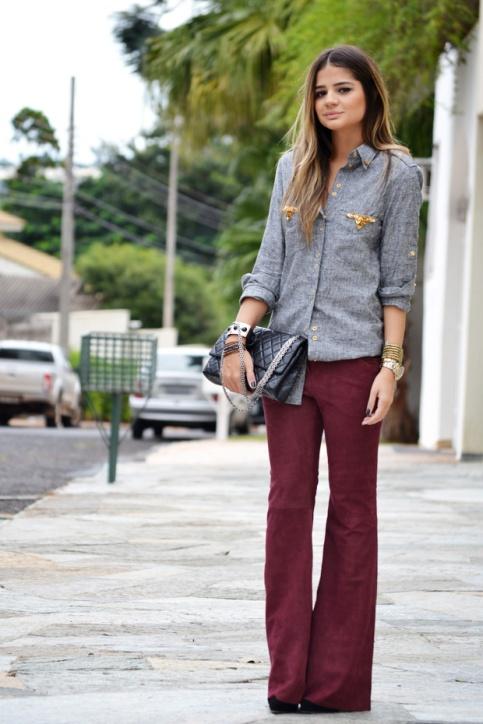 hoje-eu-queria-estar-assim-inspirac3a7c3a3o-calc3a7a-flare-burgundy-camisa-cinza1